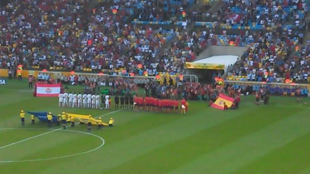 Espanha x Taiti